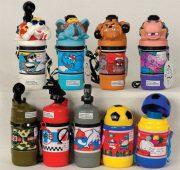 Παγούρια παιδικά σε διάφορα σχήματα - πολύχρωμα