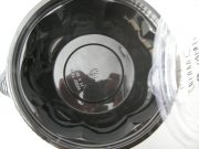Μπωλ πλαστικό μαύρο ΧΩΡΙΣ καπάκι 1000cc (1000τμχ.)