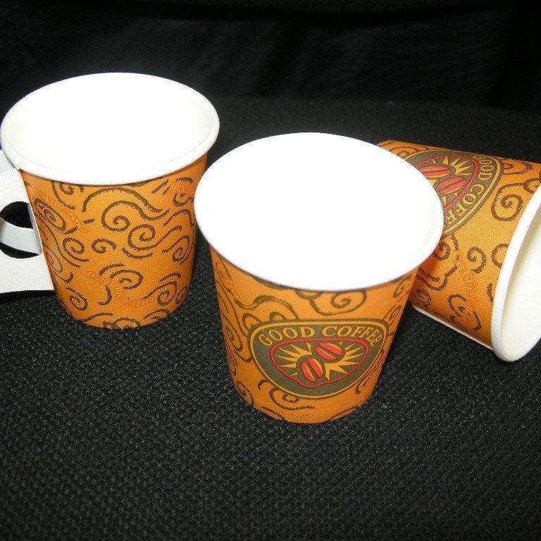 Ποτηριά espresso μιας χρήσης 4 oz με χερουλάκι