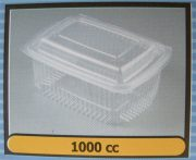 Pet Πετ διαφανή κουμπωτά 1000cc (600τμχ.)