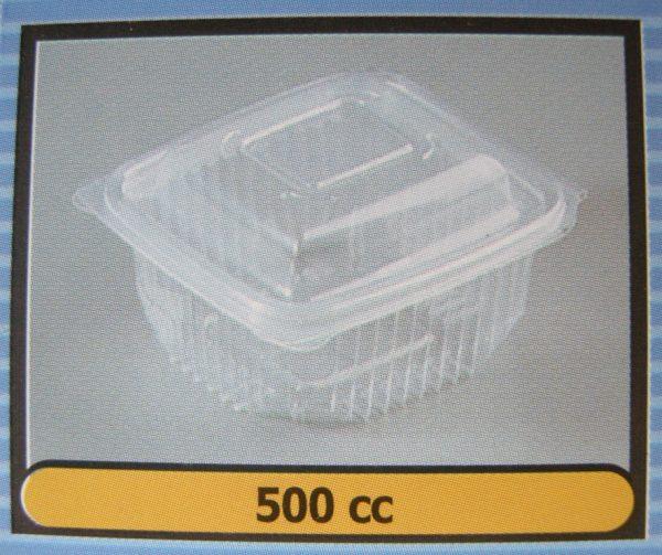 Pet Πετ διαφανή κουμπωτά 500cc (800τμχ.)
